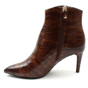 SOLIVER 25333 ANKLE BOOT - BROWN MULTI