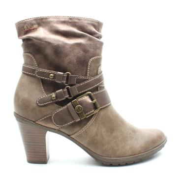 SOLIVER 25334 ANKLE BOOT - TAN