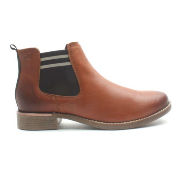 innovative design a557a c0b18 Soliver 25335 Gusset Boot - Tan