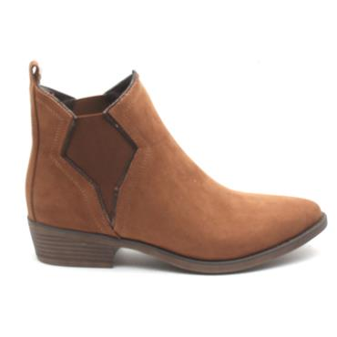 SOLIVER ANKLE BOOT 25336 - DARK TAN
