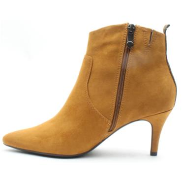 MARCO TOZZI 25338 ANKLE BOOT - MUSTARD