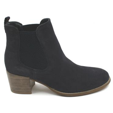 TAMARIS 25342 ANKLE BOOT - NAVY SUEDE