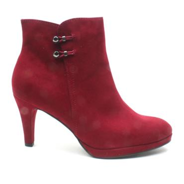 MARCO TOZZI 25342 ANKLE BOOT - WINE