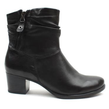 CAPRICE 25347 ANKLE BOOT - Black