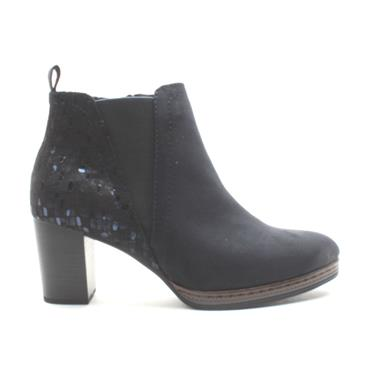 MARCO TOZZI 25358 ANKLE BOOT - DARK NAVY