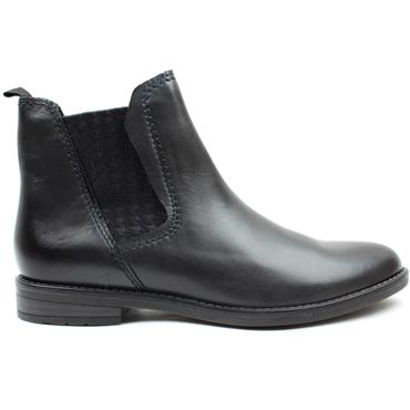 MARCO TOZZI 25366 GUSSET BOOT - NAVY