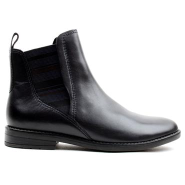 JANA 25366 ANKLE BOOT - NAVY