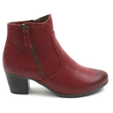 JANA 25366 ANKLE BOOT - RED