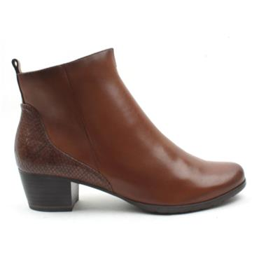 MARCO TOZZI 25369 ANKLE BOOT - NUT