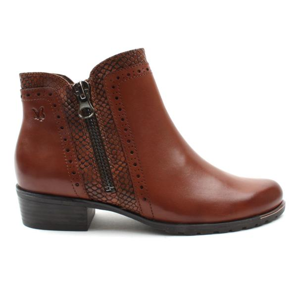 CAPRICE ANKLE 25403 BOOT - TAN