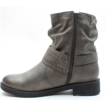 JANA 25413 ANKLE BOOT - STONE