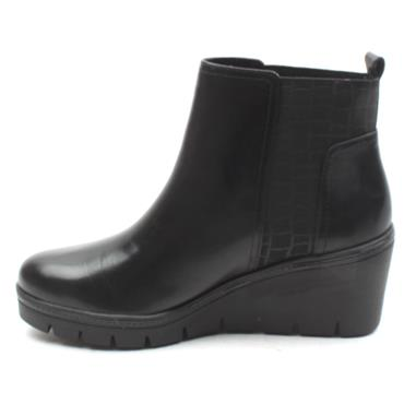 TAMARIS 25430 WEDGE BOOT - Black