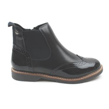 SOLIVER ANKLE  BOOT 25444 - NAVY