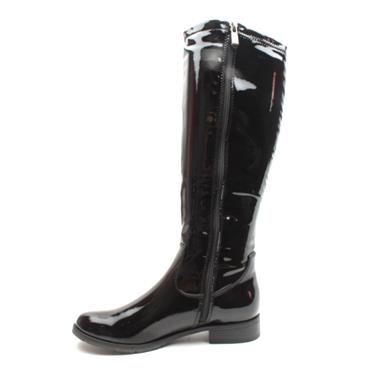MARCO TOZZI  25520 KNEE HIGH BOOT - BLACK PATENT