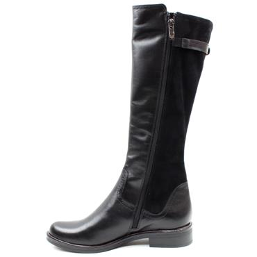 CAPRICE 25544 SLIM LEG KNEE HIGH BOOT - BLACK MULTI
