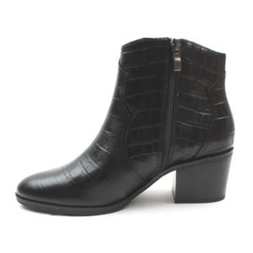 TAMARIS 25701 LOW HEEL BOOT - Black