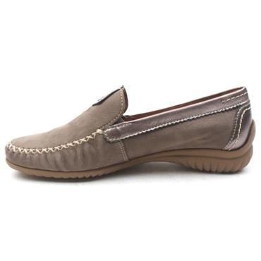 GABOR 26090 LOAFER SHOE - TAUPE