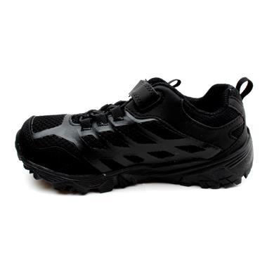 MERRELL 261881 VELCRO MOAB SHOE - BLACK/BLACK