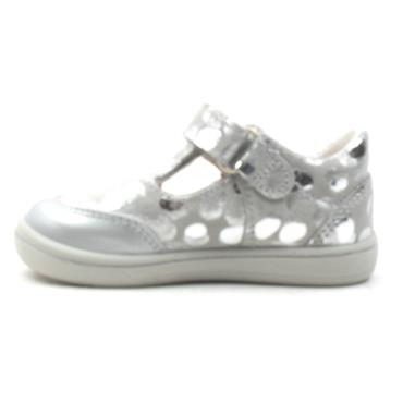 RICOSTA 2622800 JUNIOR SHOE - SILVER