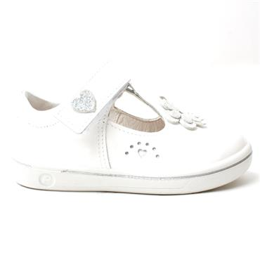 RICOSTA 2628300 JUNIOR SHOE - WHITE