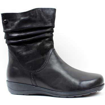 CAPRICE 26406 FLAT BOOT - Black
