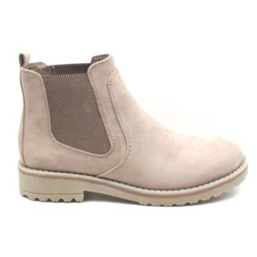 MARCO TOZZI 26408 GUSSET BOOT - BEIGE