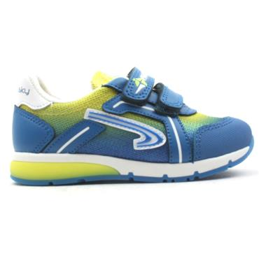 PABLOSKY 275241 JUNIOR RUNNER - BLUE MULTI
