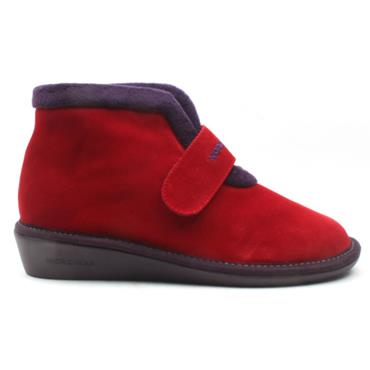 NORDIKA 280 SUEDE BOOT - RED