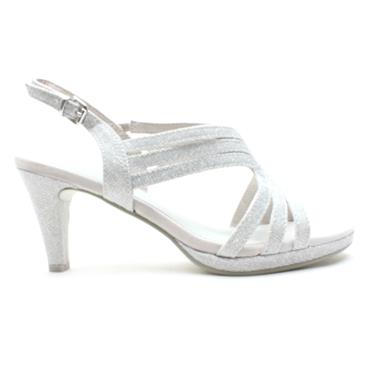 MARCO TOZZI 28329 DRESS SANDAL - SILVER