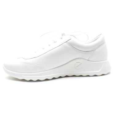ECCO 292333 FLEXURE SHOE - WHITE