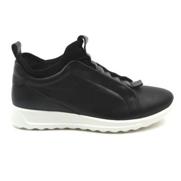 ECCO 292393 LACED RUNNER - Black