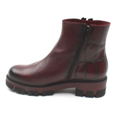 JOSE SAENZ 3006 ANKLE BOOT - BURGUNDY