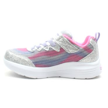 SKECHERS 302046L AIR DUAL RUNNER - SILVER MULTI