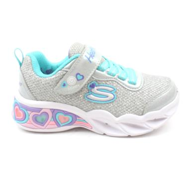 SKECHERS 302304L JUNIOR RUNNER - GREY MULTI
