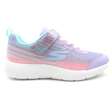 SKECHERS 302456L SHIMMER RUNNER - PURPLE MULTI