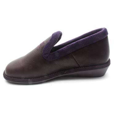 NORDIKA 305LEATHER SLIPPER - PURPLE