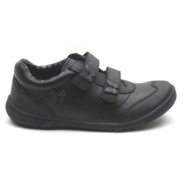 LURCHI 30731 VELCRO JUNIOR SHOE - Black