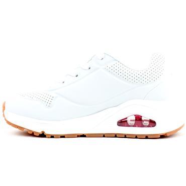 SKECHERS 310024L UNO JUNIOR RUNNER - WHITE PINK