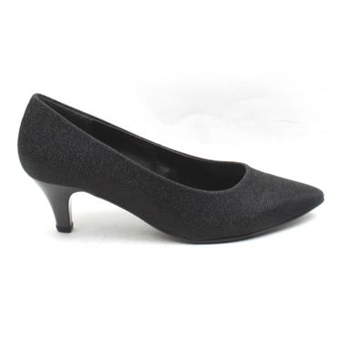 GABOR 31350 COURT SHOE - BLACK SPARKLE