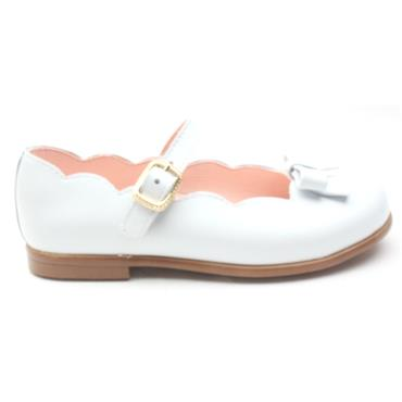 PABLOSKY 323803 BUCKLE SHOE - WHITE