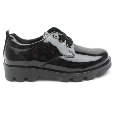 PABLOSKY 326519 LACED SHOE - BLACK PATENT