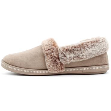 SKECHERS 32777 SLIPPER -TEAM TOASTY - TAUPE