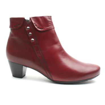 GABOR 32822 ANKLE BOOT - RED