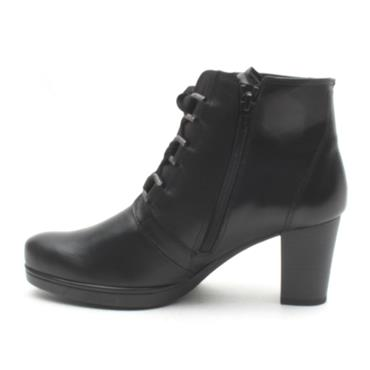 GABOR 32866 LACED ANKLE BOOT - Black