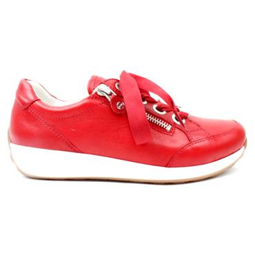 JENNY 34587 LACED SHOE - RED WHITE