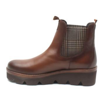 GABOR 34720 WEDGE SOLE BOOT - TAN