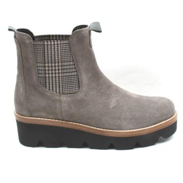 GABOR 34720 WEDGE SOLE BOOT - TAUPE