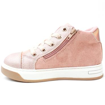 SOLIVER 35214 LACED BOOT - ROSE