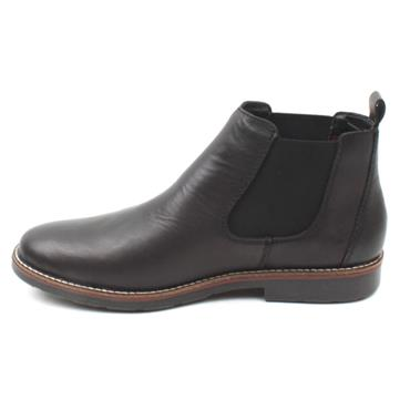RIEKER 35382 SLIPON BOOT - Black