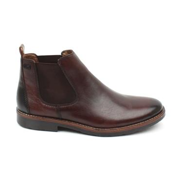 RIEKER 35382 SLIPON BOOT - DARK BROWN